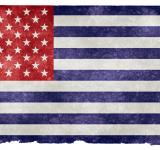 Free Photo - USA Grunge Flag - Inverted