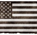 Free Photo - USA Grunge Flag - Black and White