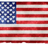 Free Photo - USA Love Grunge Flag