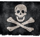 Free Photo - Jolly Roger Grunge Flag