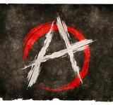 Free Photo - Anarchy Grunge Flag