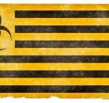 Free Photo - Biohazard Grunge Flag