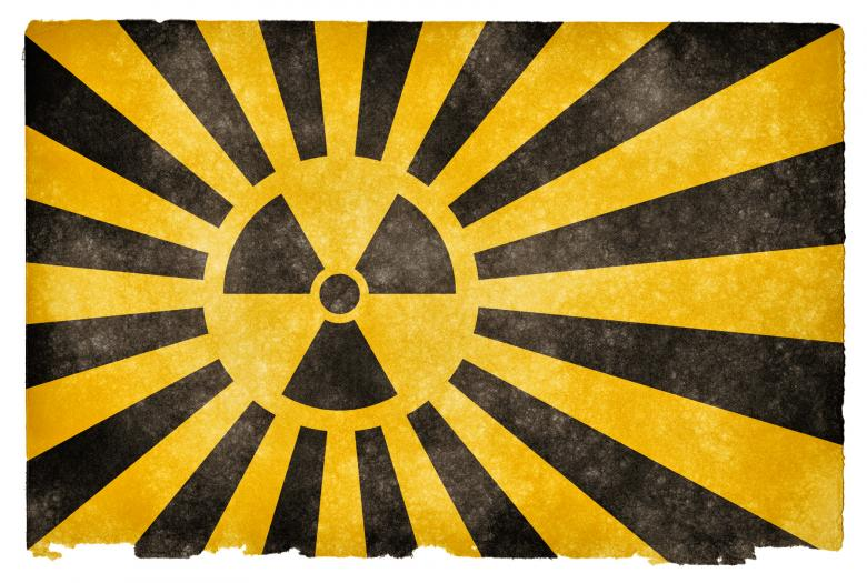 Free Stock Photo of Nuclear Burst Grunge Flag Created by Nicolas Raymond