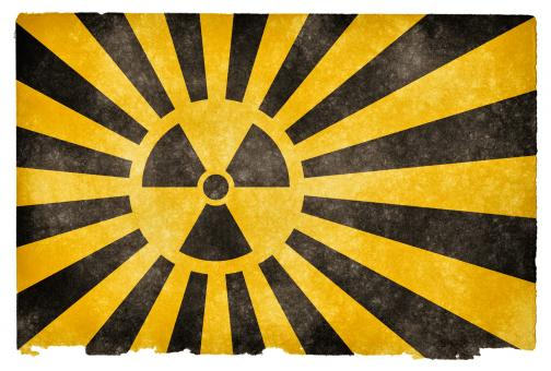Nuclear Burst Grunge Flag - Free Stock Photo