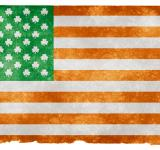 Free Photo - Irish American Grunge Flag