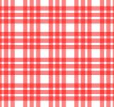 Free Photo - Red and white tablecloth pattern