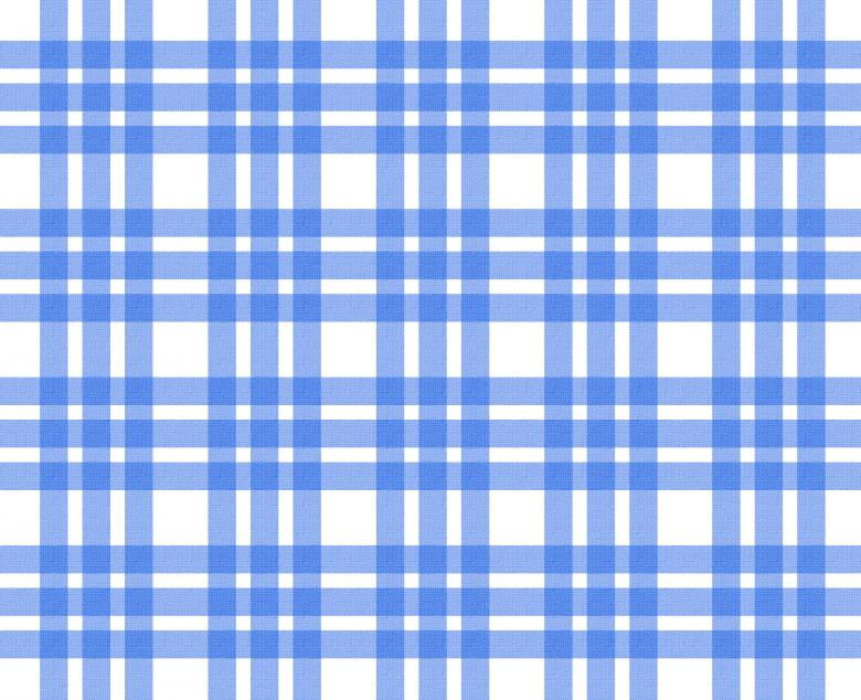 Free Stock Photo of Blue and white tablecloth pattern Created by Merelize