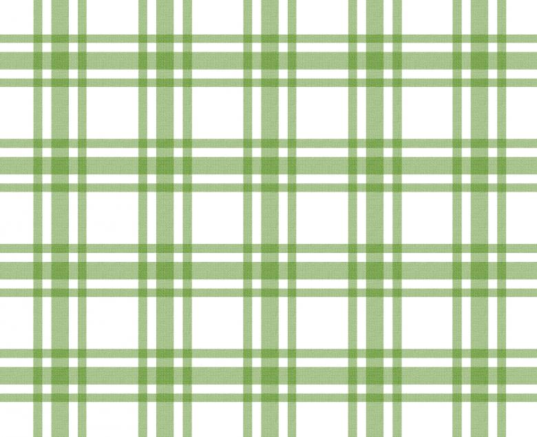 Green and white tablecloth pattern Free Photo