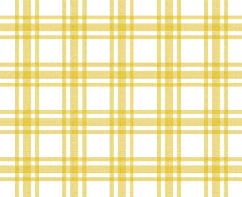 Yellow and white tablecloth pattern Free Photo