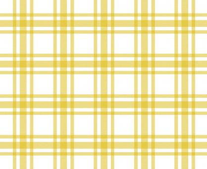 Yellow and white tablecloth pattern - Free Stock Photo
