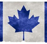 Free Photo - Canada Grunge Flag - Blue