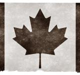 Free Photo - Canada Grunge Flag - Black and White