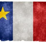 Free Photo - Acadian Grunge Flag