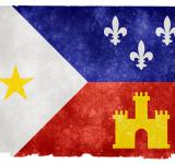 Free Photo - Acadiana Grunge Flag