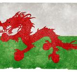 Free Photo - Asian Welsh Grunge Flag
