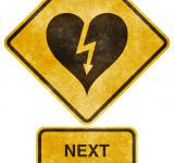 Free Photo - Crossing Road Grunge Sign - Heart-Strick