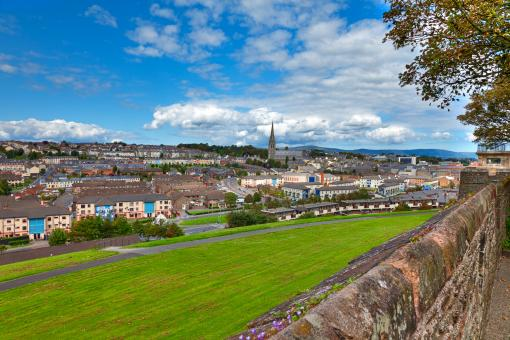 Derry Cityscape - HDR - Free Stock Photo