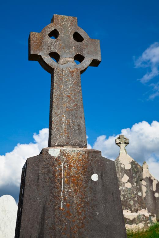 Free Stock Photo of Donegal Cemetery Celtic Cross Created by Nicolas Raymond