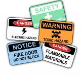 Free Photo - Workplace Safety Signs
