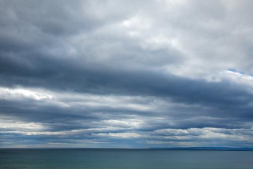 Coastal Clouds - HDR - Free Stock Photo
