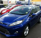Free Photo - Blue Ford Fiesta
