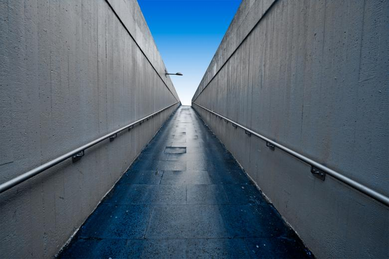 Free Stock Photo of Wide-Angle Underpass Created by Nicolas Raymond