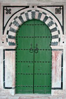 Tunisian Door - Free Stock Photo