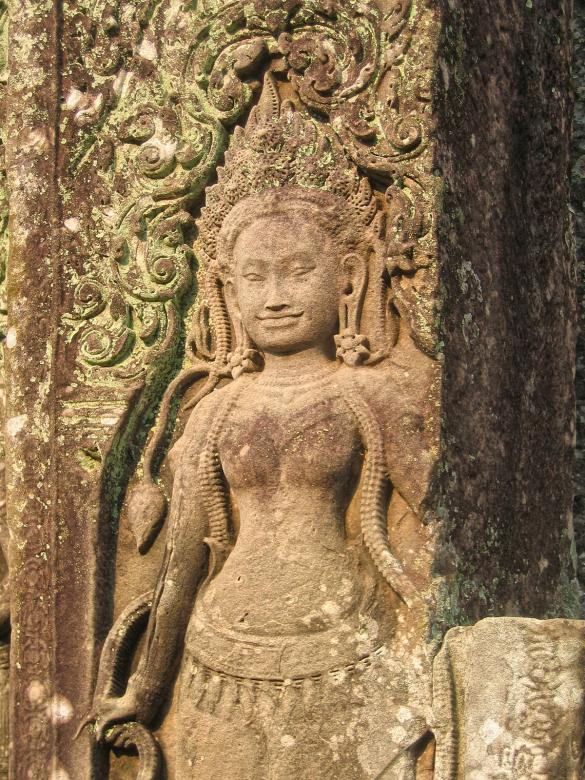 Free Stock Photo of Angkor Wat Sculpture Created by Nicolas Raymond