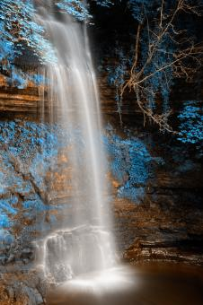 Glencar Falls - HDR - Free Stock Photo