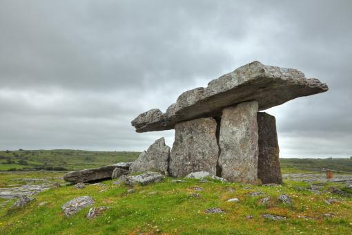 Poulnabrone Dolmen - HDR - Free Stock Photo
