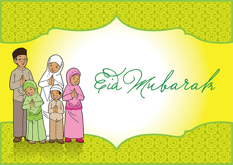 Eid mubarak greeting card free stock photo by antonius andry indonesian family eid mubarak greeting card m4hsunfo