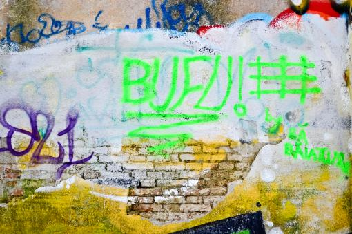 Graffiti on a wall - Free Stock Photo