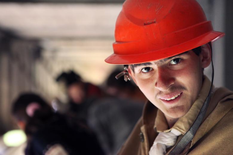 Man in helmet - Free Industrial Stock Photos