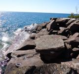 Free Photo - Rocks on Superior Shore