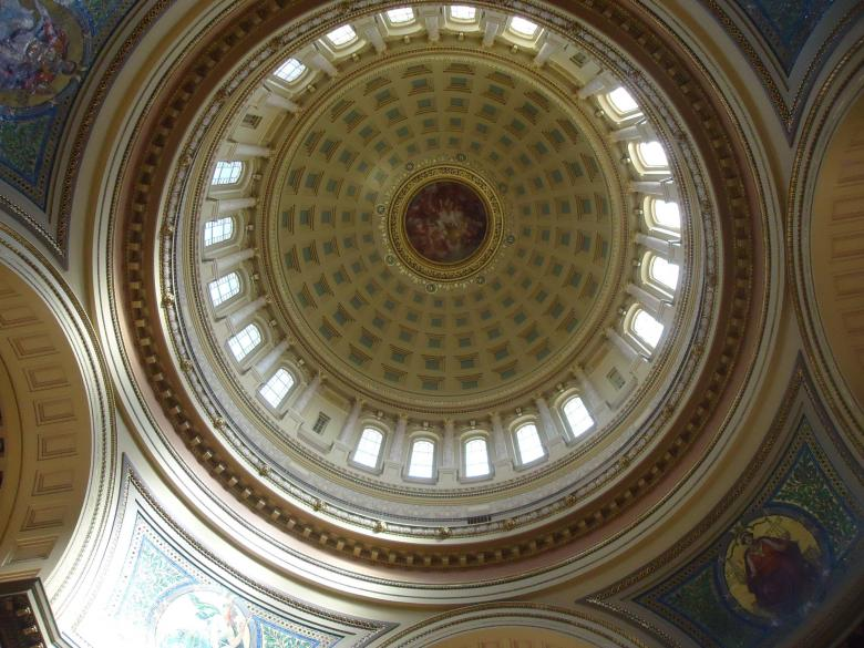 Free Stock Photo of Madison capitol upward view Created by Yinan Chen
