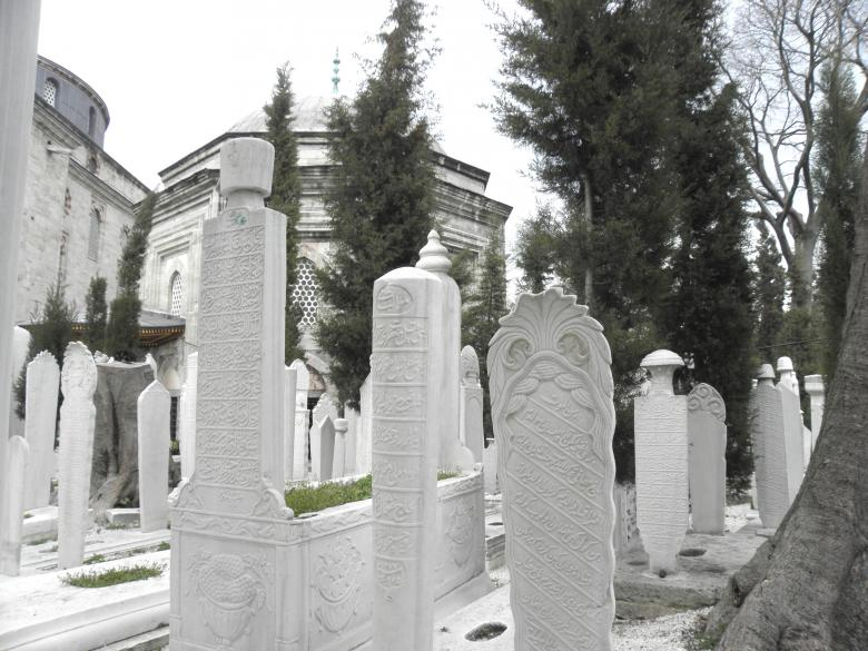 Free Stock Photo of Marble gravestones Created by Yuliy Ganev