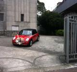 Free Photo - Mini cooper as wedding car