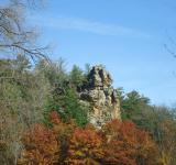 Free Photo - Rock Cliff Among Trees