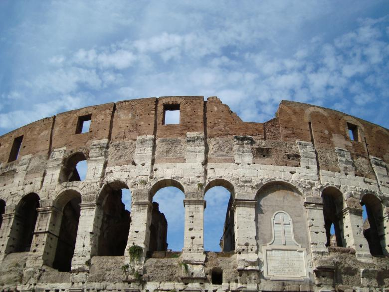 Free Stock Photo of The Colosseum, Rome Created by Ivan