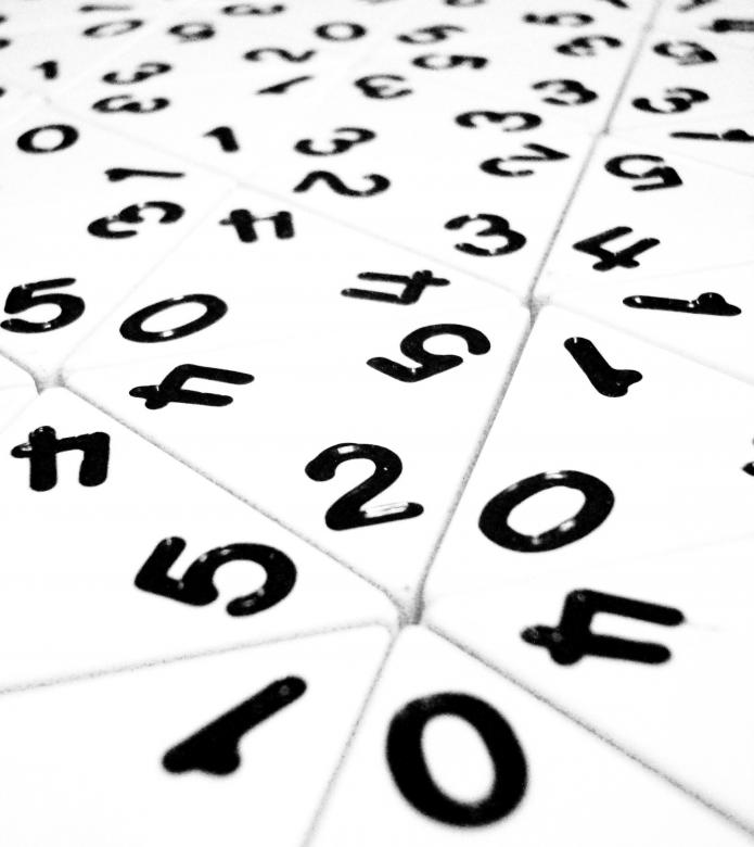 Free Stock Photo of Random Numbers Created by Ivan