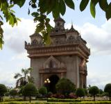 Free Photo - Patuxai Gate in Vientiane, Laos
