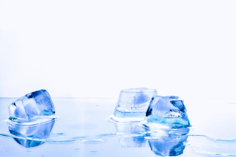Free Stock Photo of Ice Cubes