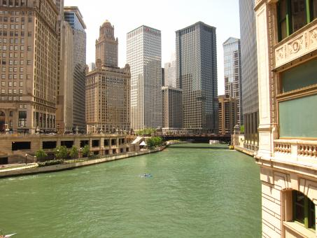 Chicago River - Free Stock Photo