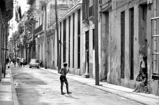 Playing in Havana - Free Stock Photo