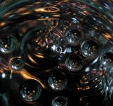 Free Photo - Black Abstract Bubble Background