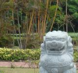 Free Photo - Chinese Lion Garden Feature