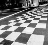 Free Photo - Checkered crosswalk pattern