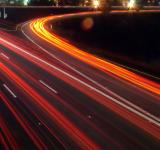 Free Photo - Night traffic on highway