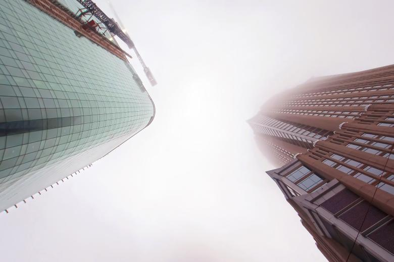 Free Stock Photo of Tall skyscrapers Created by agphotostock.com