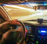 Free Photo - Driving at speed of light
